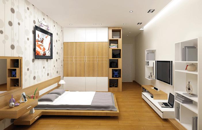 Tham khảo nội thất phòng ngủ Chung cư IEC Complex