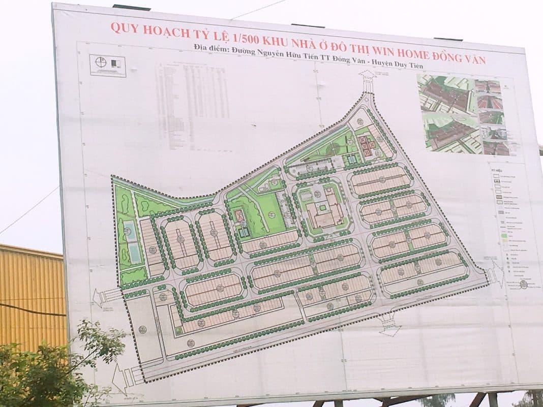 Thông tin Dự án Khu nhà ở Đô thị Win Home Đồng Văn