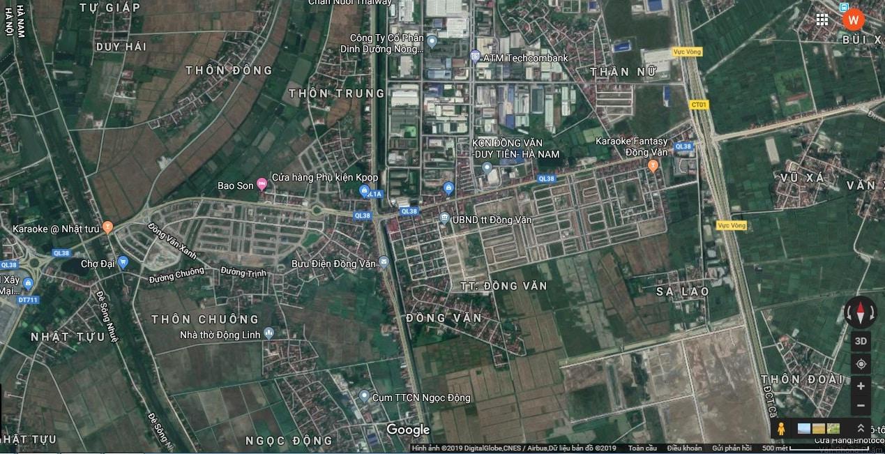 Vị trí Vàng Dự án Win Home Đồng Văn