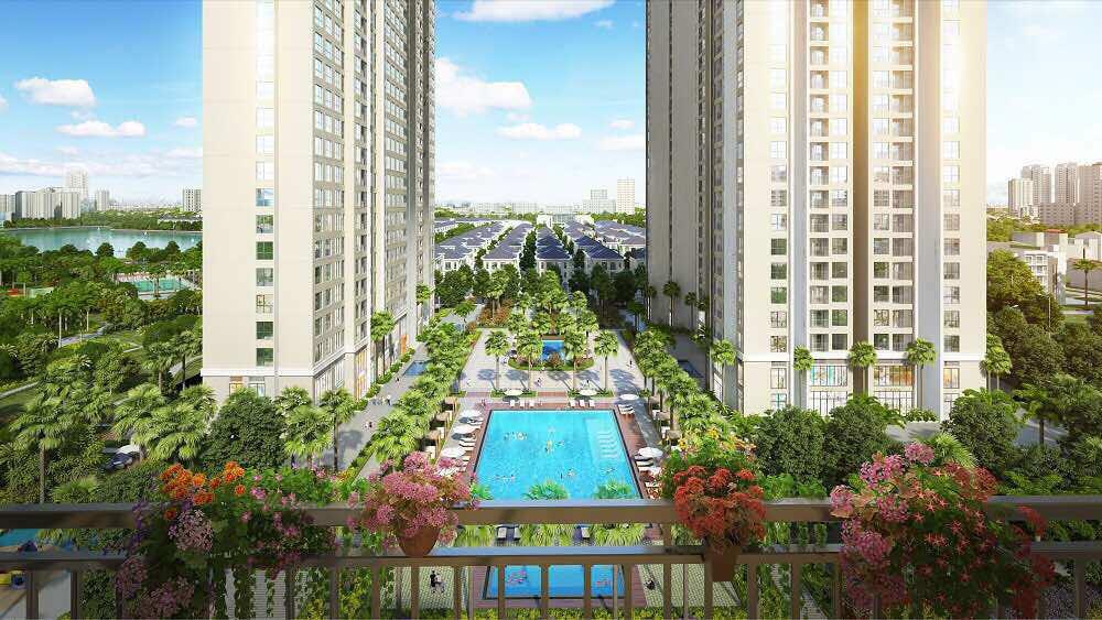 Chung cư cao tầng Dự án Vinhomes Cổ Loa (tham khảo)