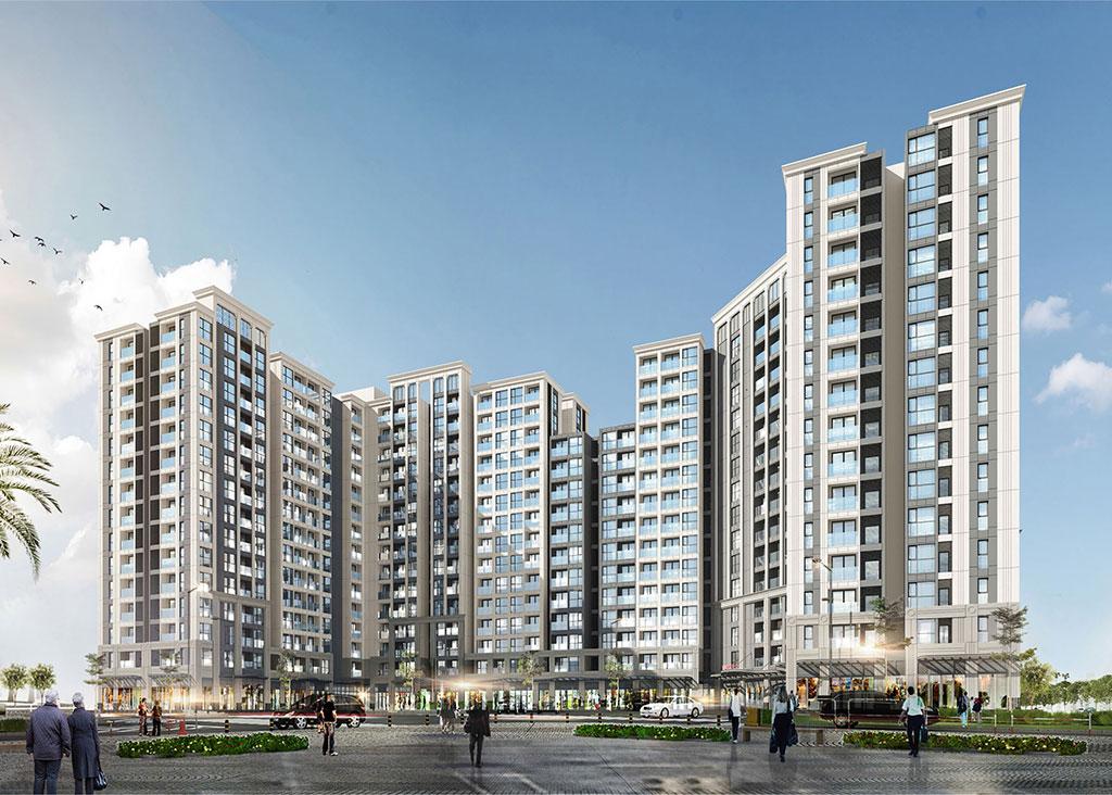 Dự án Chung cư Vinhomes Symphony Long Biên cao 9-15 tầng
