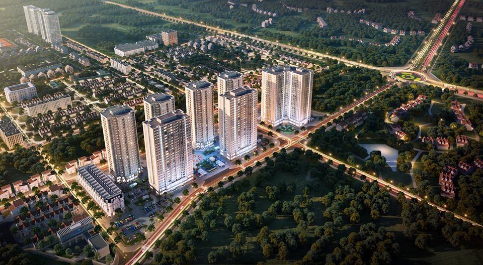 Phối cảnh Dự án Mipec City View Kiến Hưng