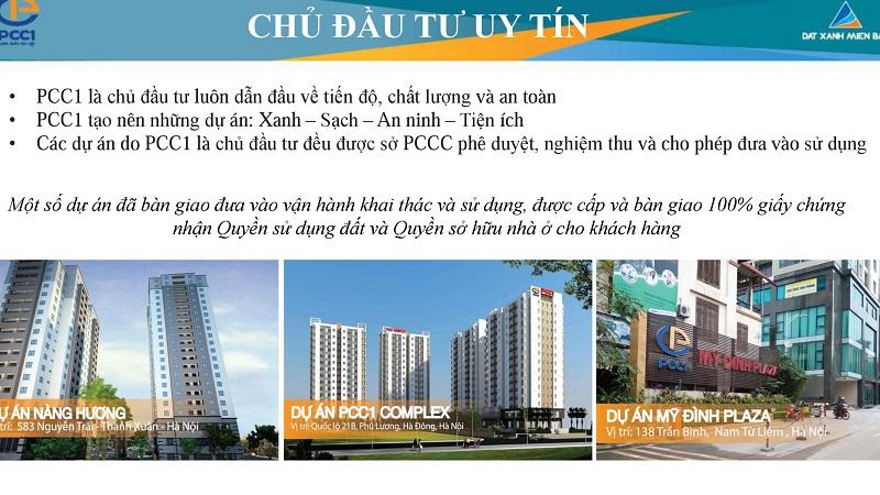 Chung cư PCC1 Vĩnh Hưng kế thừa kinh nghiệm các dự án thành công