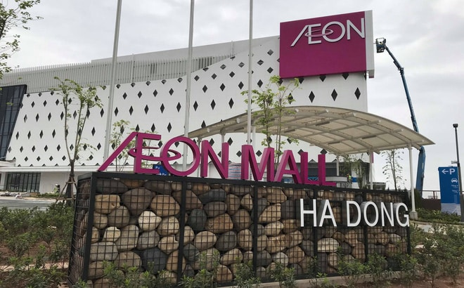 Đại siêu thị AEON Mall Hà Đông cách Sym Cantavil Complex chỉ 1,5km