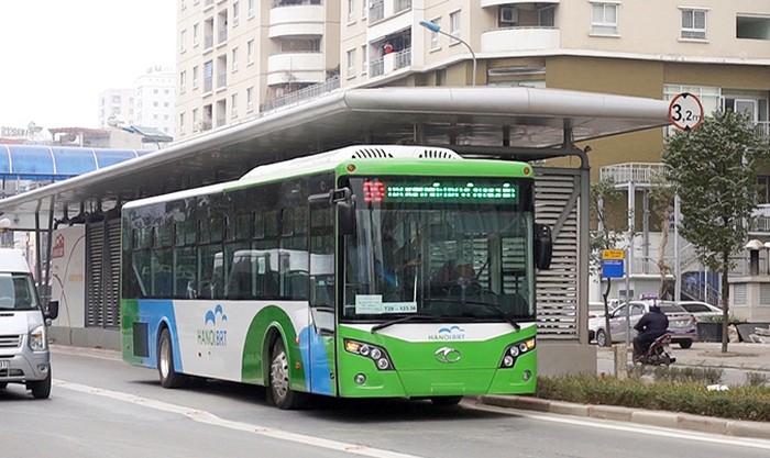 Hệ thống xe bus nhanh BRT cạnh ngay Dự án Sym Cantavil Lê Trọng Tấn