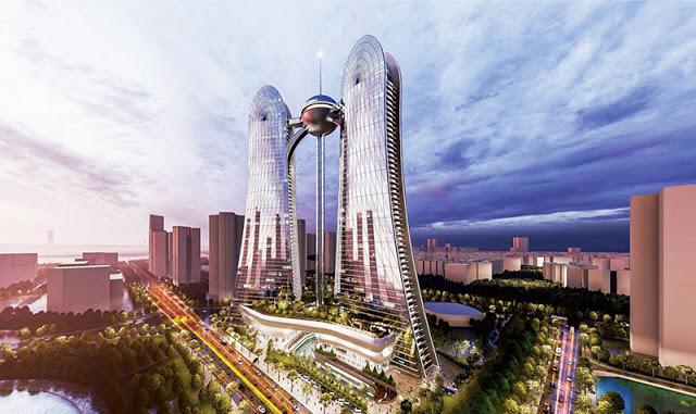 Phối cảnh Dự án Sunshine Dragon Twins Tower Tây Hồ Hà Nội
