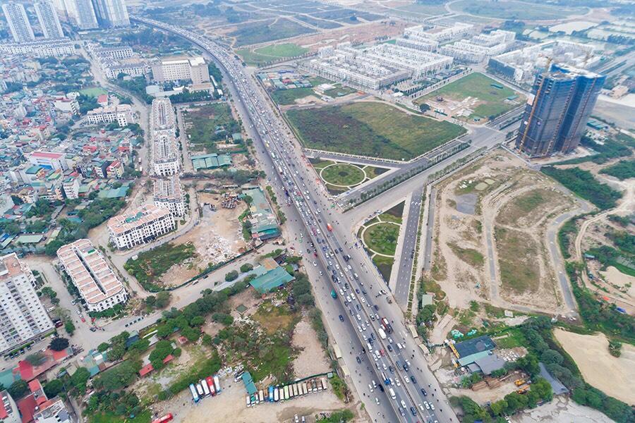 Giao lộ Xa La Nguyễn Xiển giao cắt Vành đai 3