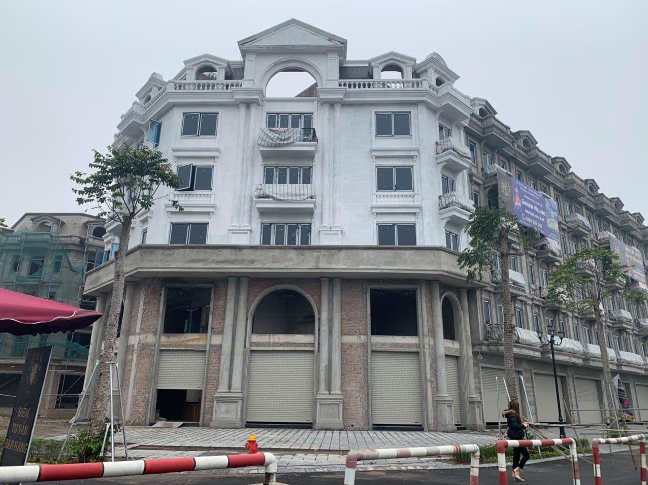 Lô góc Shophouse Kiến Hưng Luxury đường 30m