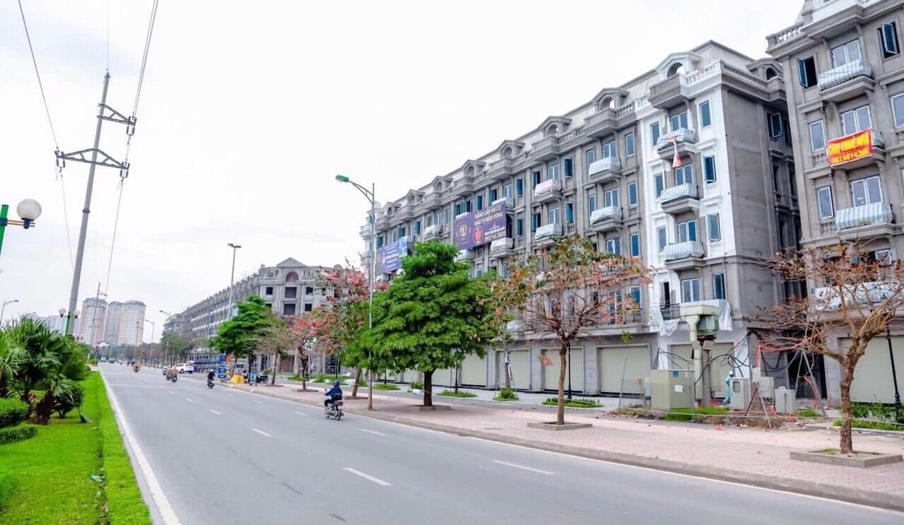 Dãy 53 lô shophouse 6 tầng + 1 hầm Kiến Hưng Luxury tháng 4 năm 2020