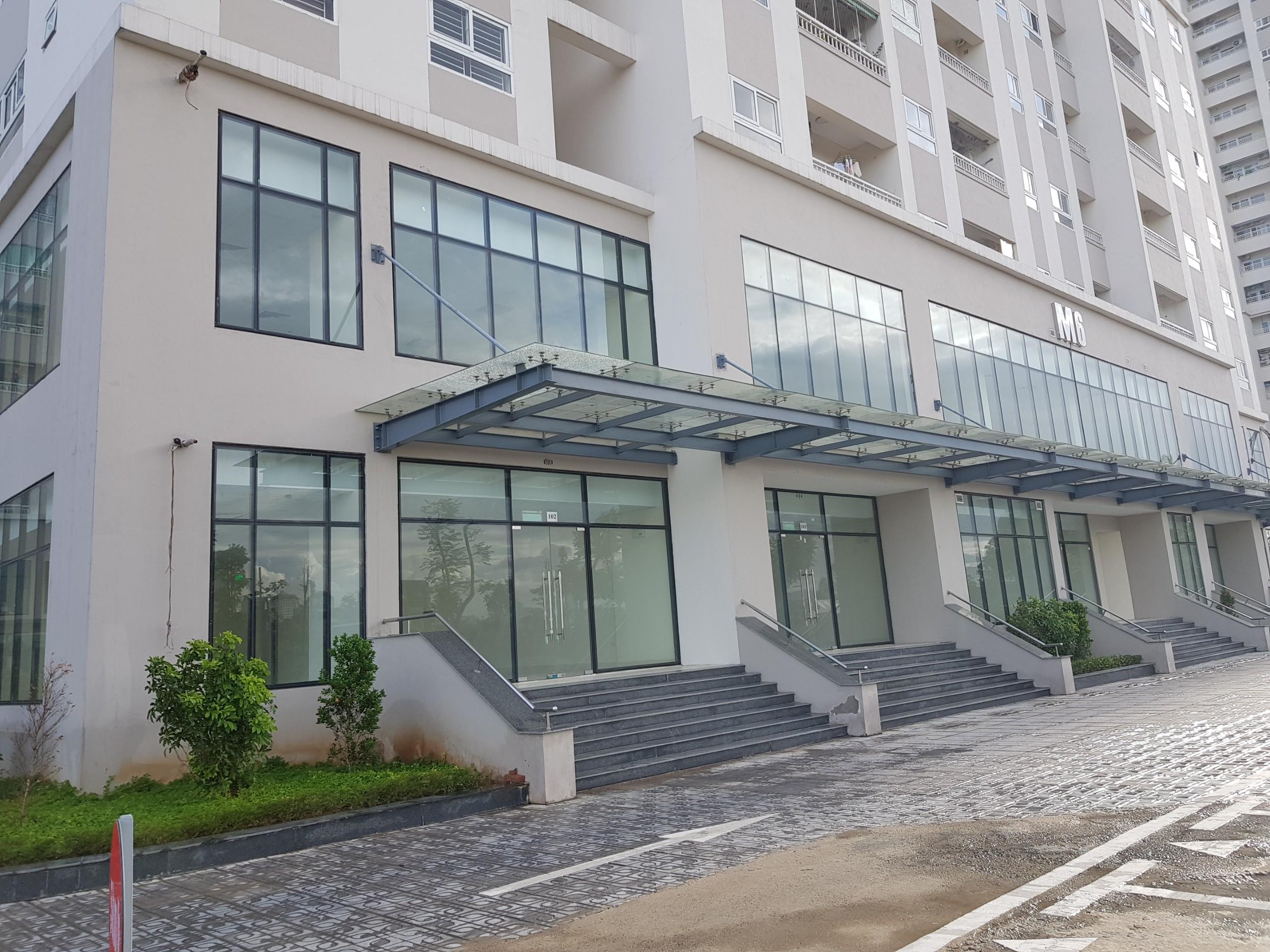 Ki ốt Shophouse chân đế tòa M6 - Dự án Mipec City View Kiến Hưng