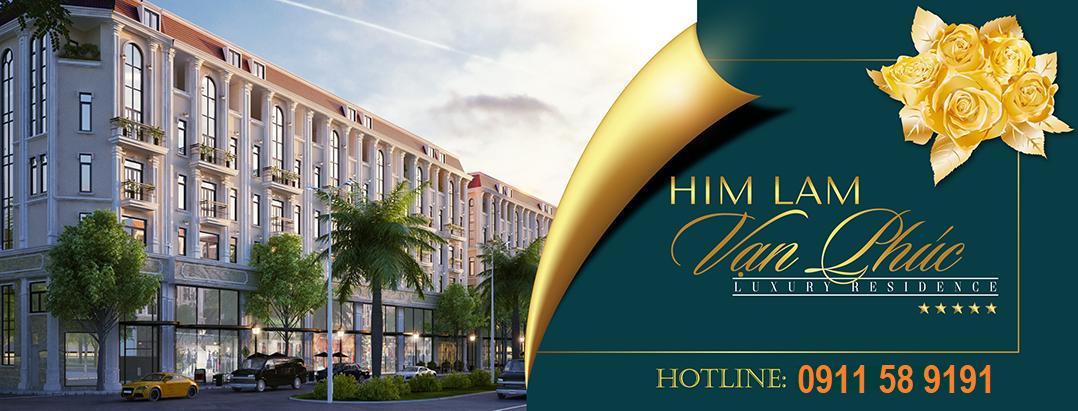 Dự án Himlam Vạn Phúc Luxury Residence mặt đường Tố Hữu