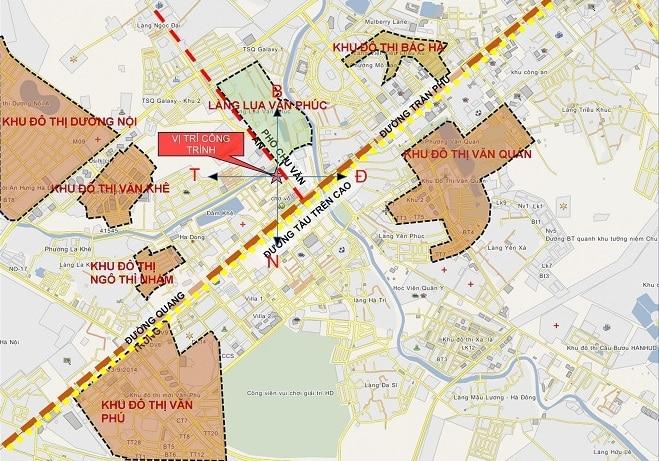 Kết nối khu vực vô cùng thuận lời từ Dự án Five Star Hà Đông Hà Nội