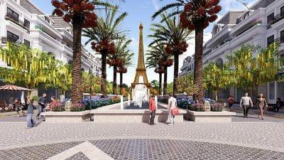 Paris Elysor Thanh Hóa Nhà phố thương mại liền kề shophouse phong cách Pháp