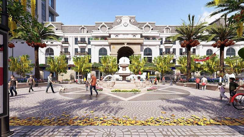 Kiến trúc ấn tượng Paris Elysor tân cổ điển Pháp