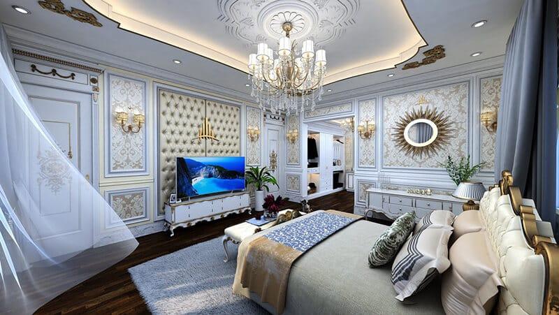 Phòng ngủ Nhà phố kinh doanh Paris Elysor