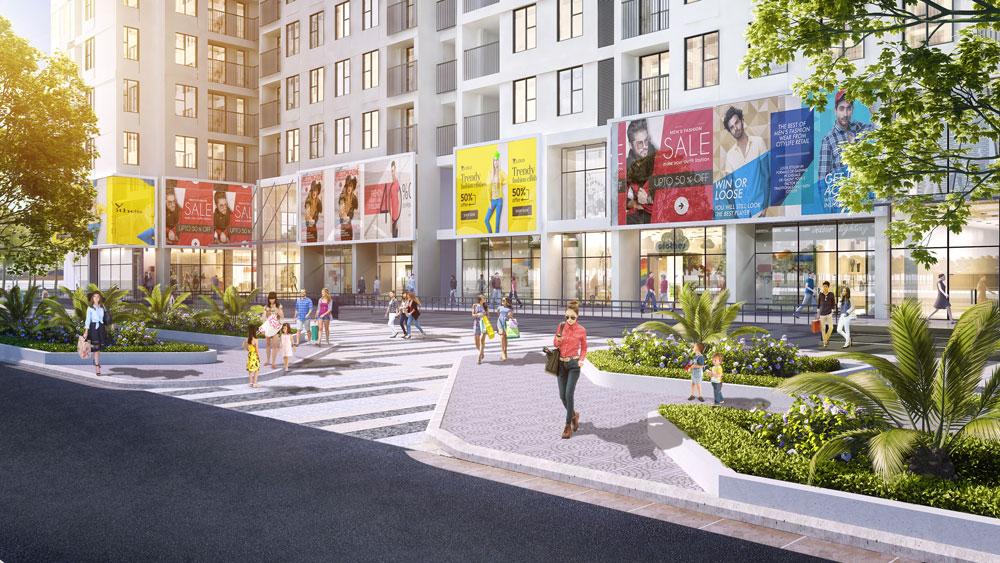 Shophouse Anland Premium thiết kế thông tầng 1-2 khối đế