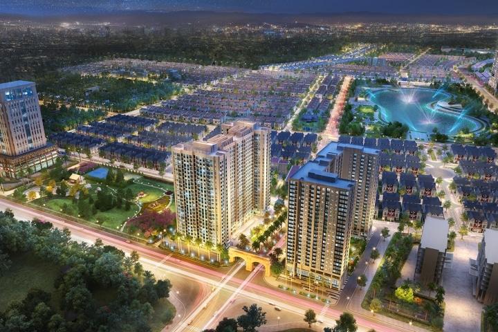Shophouse Anland Premium trong Tổng thể KĐT Dương Nội thịnh vượng