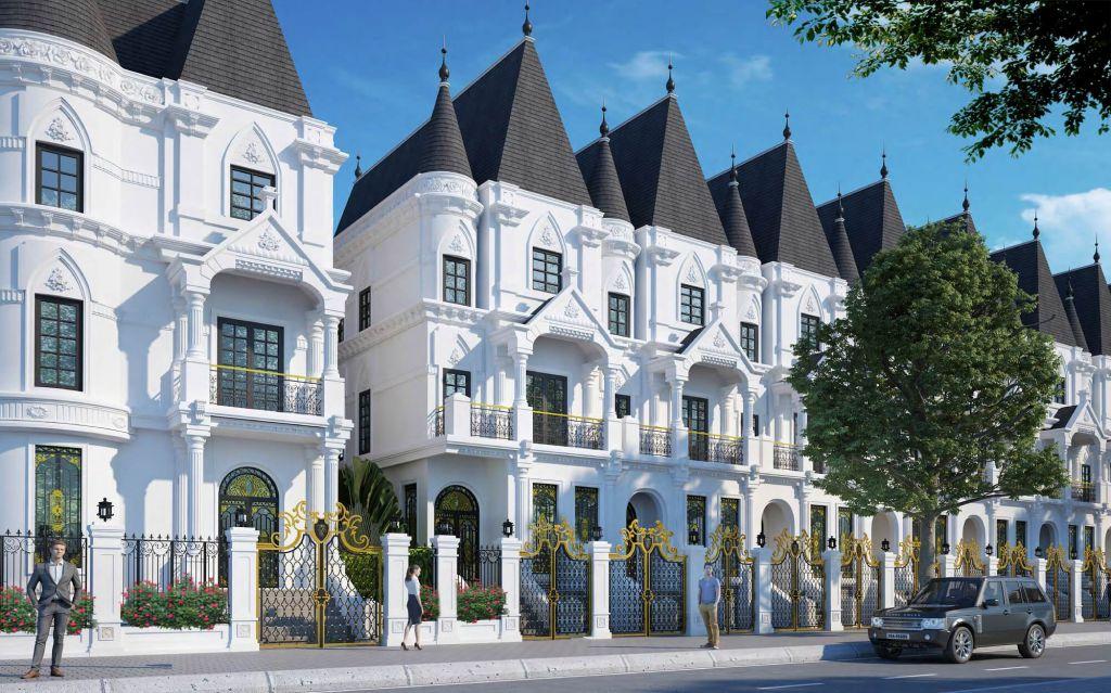 Biệt thự Lâu đài phố Jade Orchid Cổ Nhuế liền kế có thể kinh doanh tốt