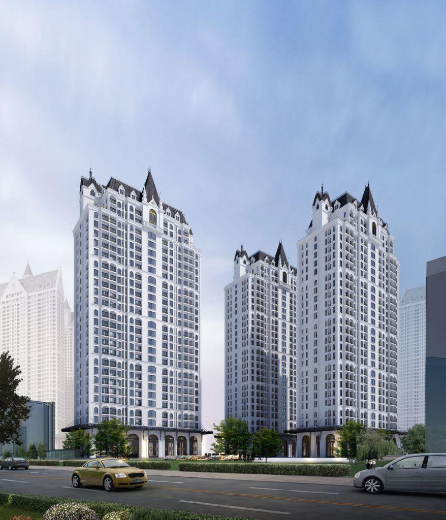 Tổ hợp căn hộ cao tầng cao cấp Chung cư The Jade Orchid Cổ Nhuế