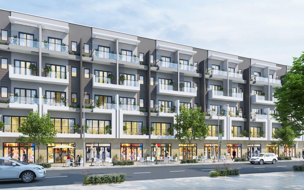 Tham khảo Thiết kế khác Liền kề Shophouse Sudico Hòa Bình khi khách hàng mua đất nền tự xây