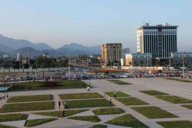 Cận cảnh Quảng trường trung tâm TP Hòa Bình đối diện Sudico Hòa Bình New City