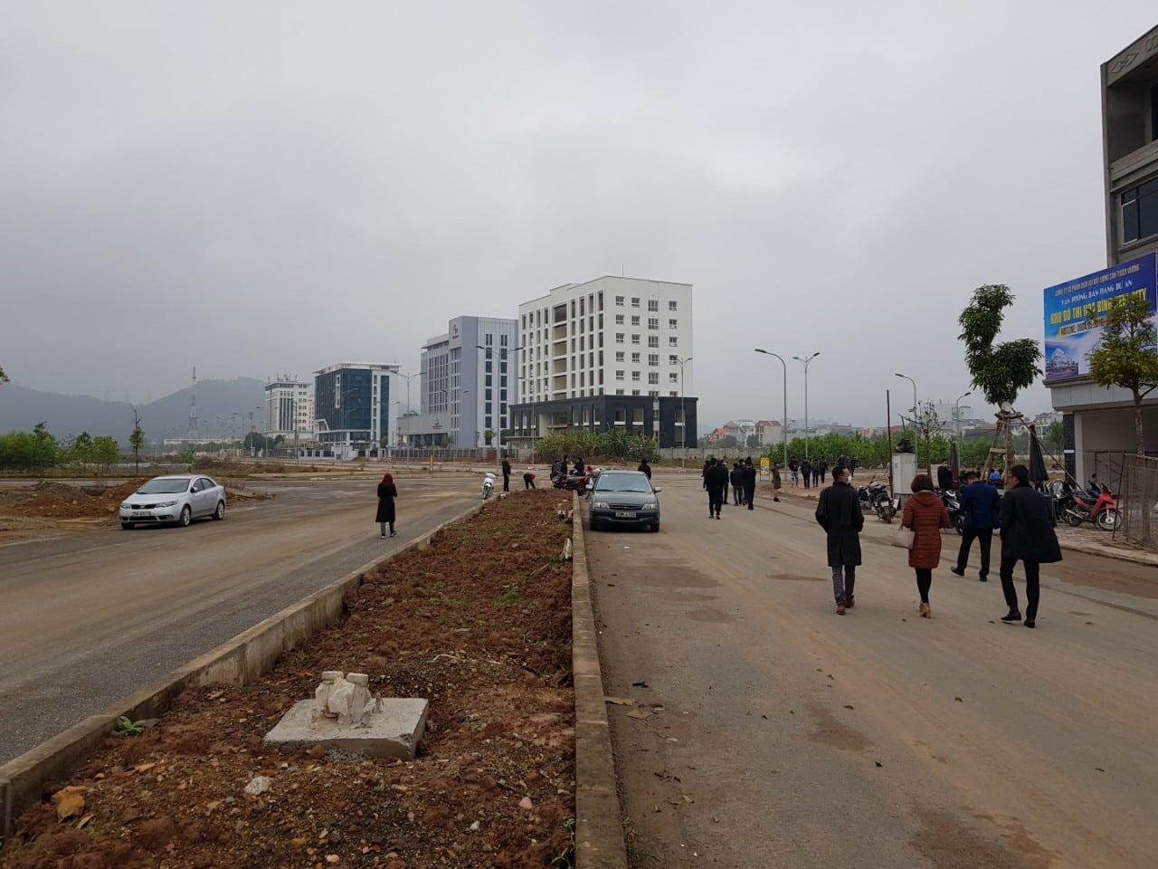 Đường đôi 36m là điểm nhấn Dự án Hòa Bình New City