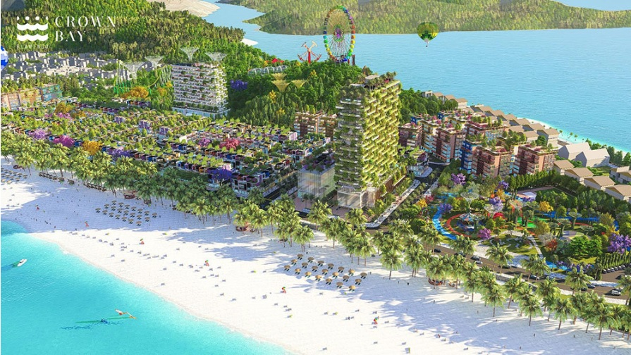 Phối cảnh tổng thể Dự án Flamingo Crown Bay Thanh Hóa