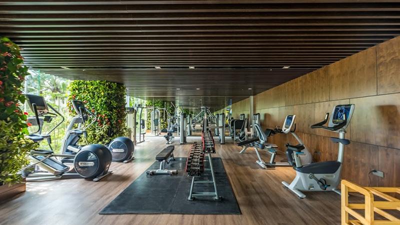 Phòng Gym với những trang thiết bị hiện đại nhất tại Flamingo Crown Hải Tiến