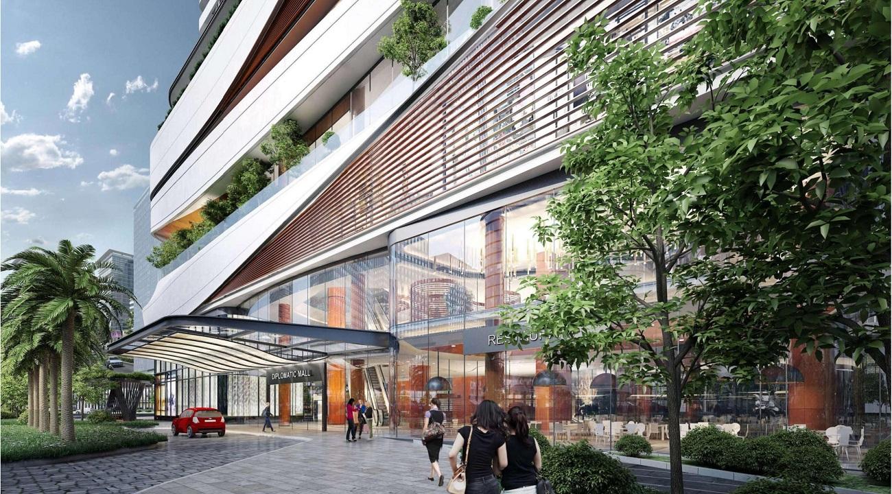 Trung tâm Thương mại đẳng cấp Han Jardin