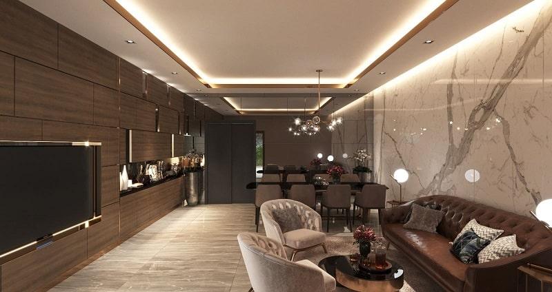 Phòng khách Lancaster Luminaire