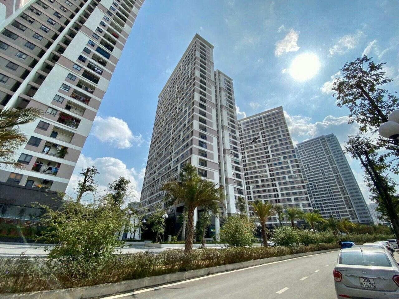 Hình ảnh thực tế Epic Home 5 tòa 25-27-30 tầng