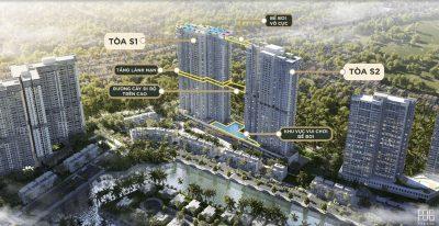 Chung cư Sky Oasis Ecopark Khu đô thị Ecopark tháp đôi 41 tầng