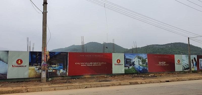 Công trường Dự án Vinpearl Mỹ Lâm