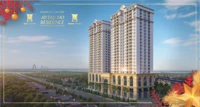 Chung cư Tây Hồ Residence 68A Võ Chí Công quận Tây Hồ mở bán 2020