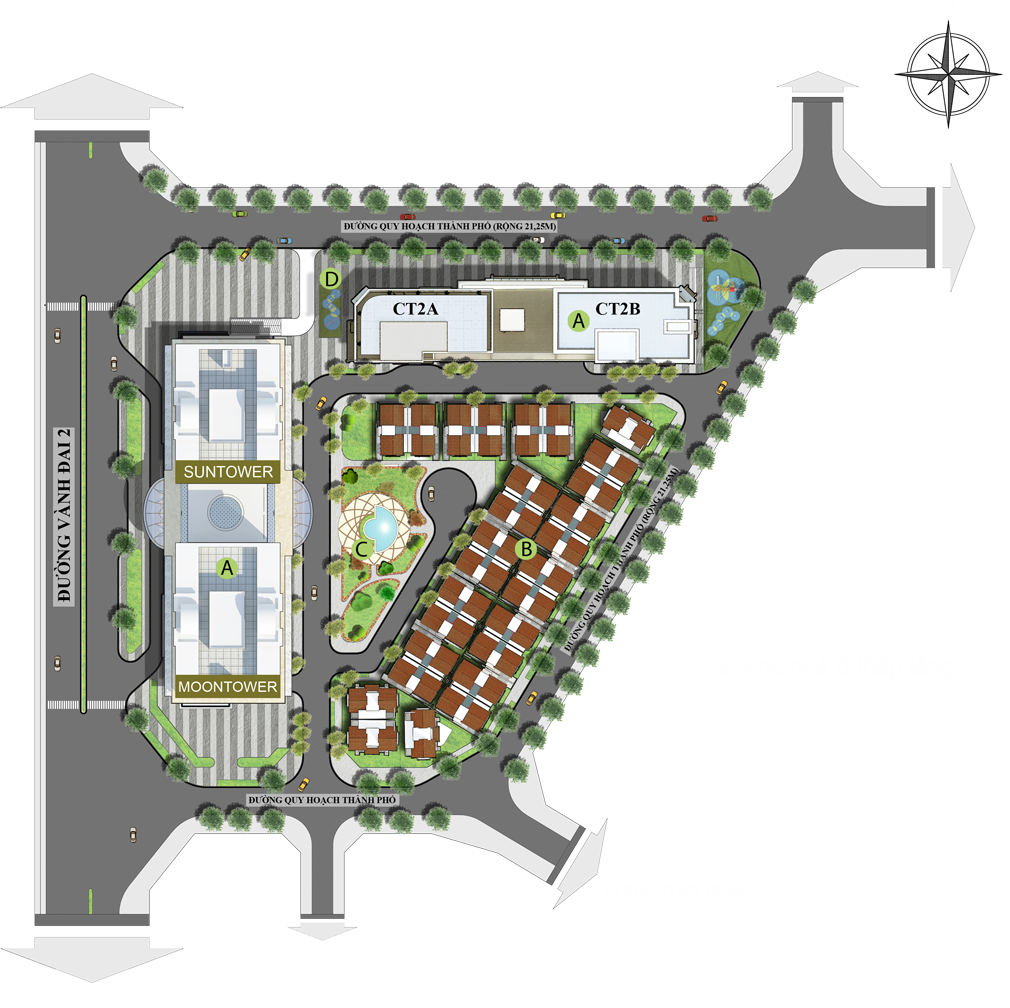 Mặt bằng Khu đất nghiên cứu, quy hoạch Dự án Chung cư Tây Hồ Residence 68A Võ Chí Công