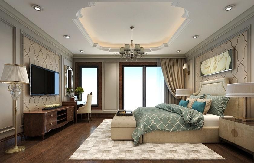 Minh họa nội thất phòng ngủ