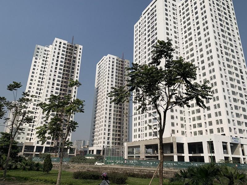 Tổ hợp 3 tòa tháp cao 28 tầng Dự án Chung cư X2 Đại Kim