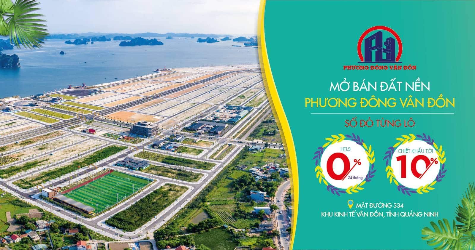 Cơ hội đầu tư Đất nền số 1 Miền Bắc tại Siêu dự án Phương Đông Vân Đồn