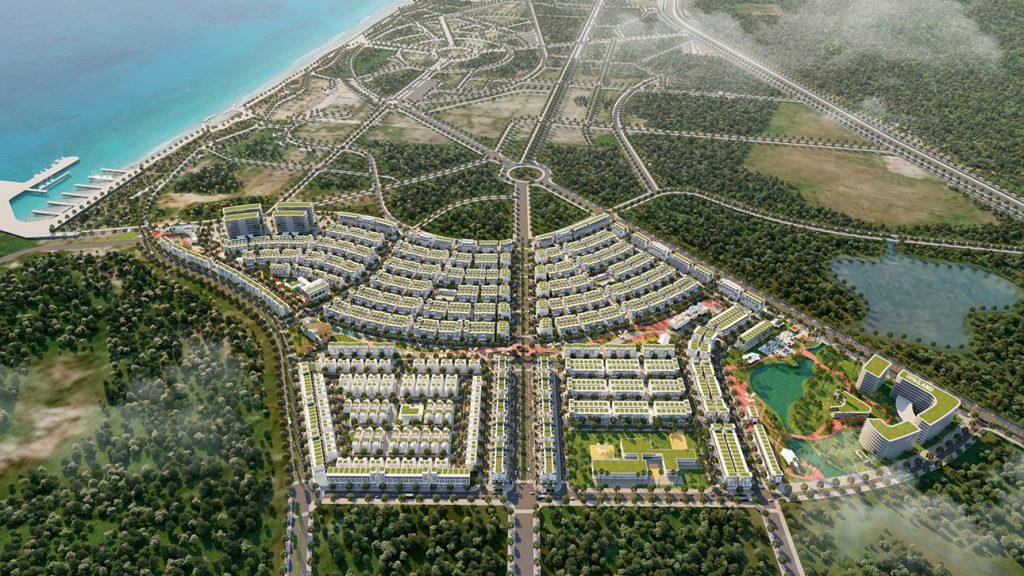 Phối cảnh Flycam Meyhomes Capital Phú Quốc