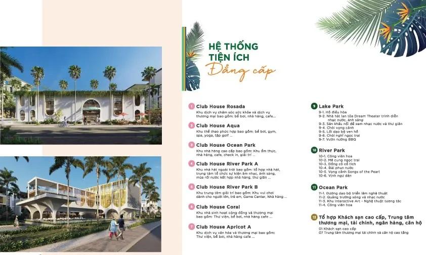 Hồ sơ tiện ích Đỉnh cao Dự án Shophouse Meyhomes Capital Phú Quốc