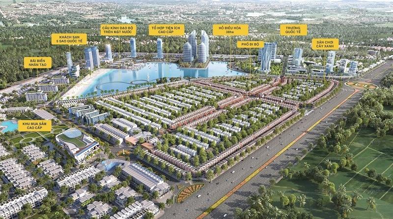 Tổng thể Dự án Liền kề Shophouse Biệt thự TMS Vĩnh Yên Homes Wonder World
