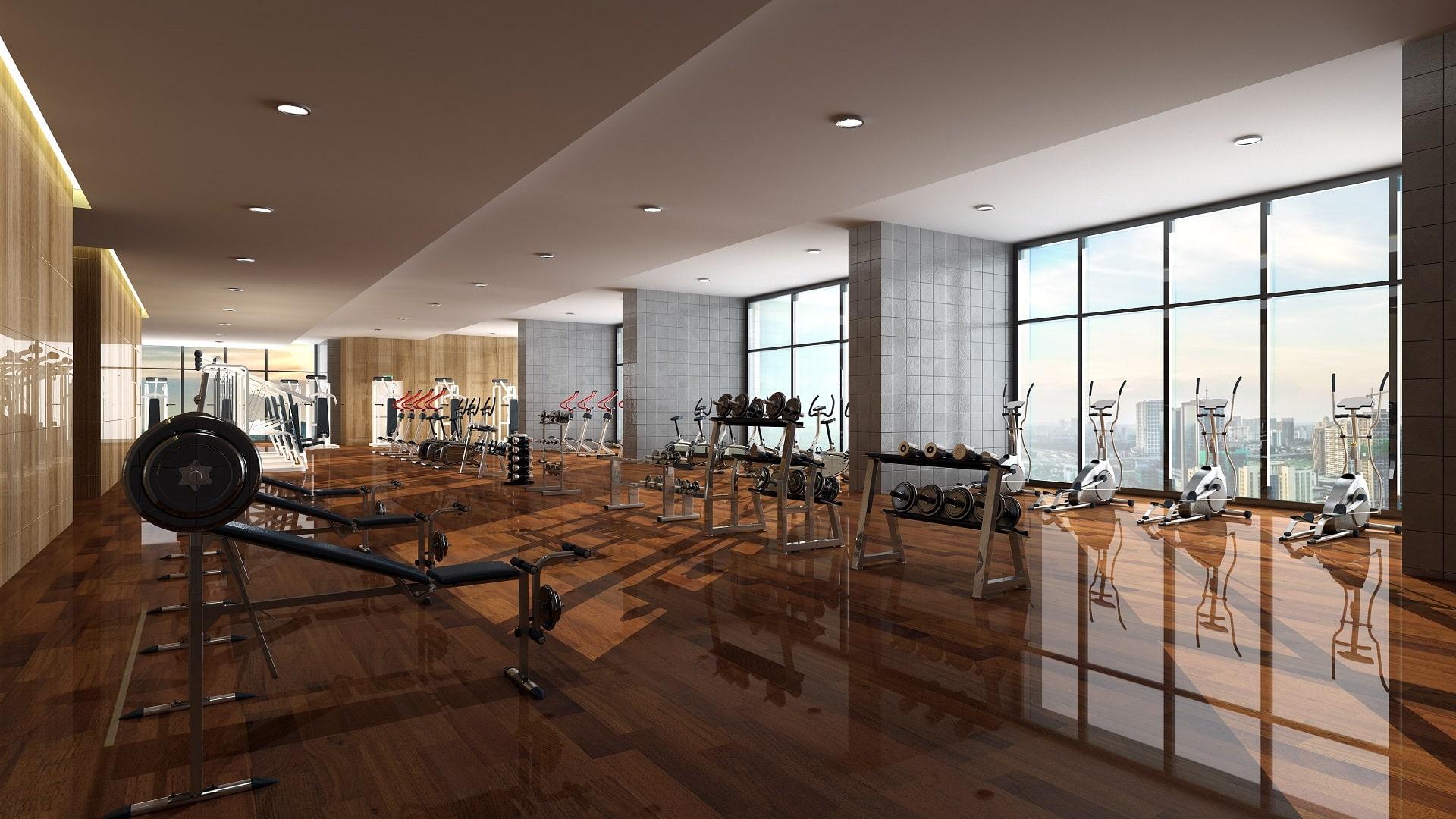 Tiện ích cao cấp Dự án TNR The Nosta - Phòng tập Gym