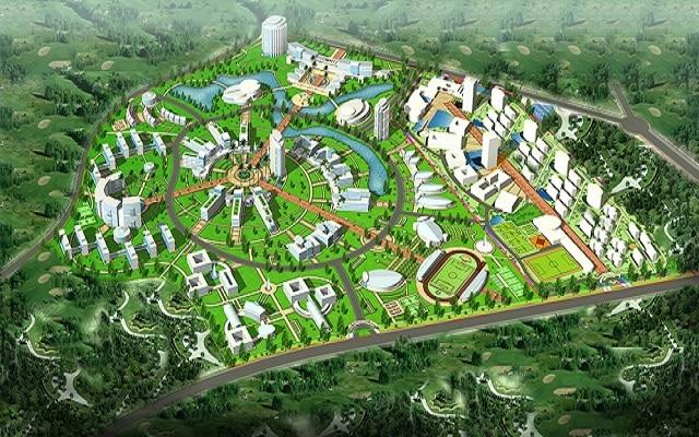 Quy hoạch Khu đô thị Đại học Quốc Gia Đất nền Hòa Lạc