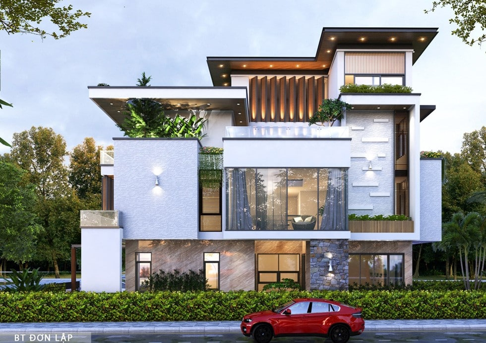 Biệt thự Dự án Phú Cát City Hòa Lạc