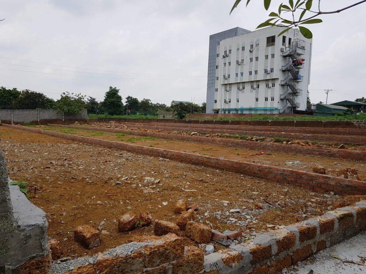 Ảnh thực tế 6 lô nhà vườn dự án Đất nền Vai Réo Hòa Lạc