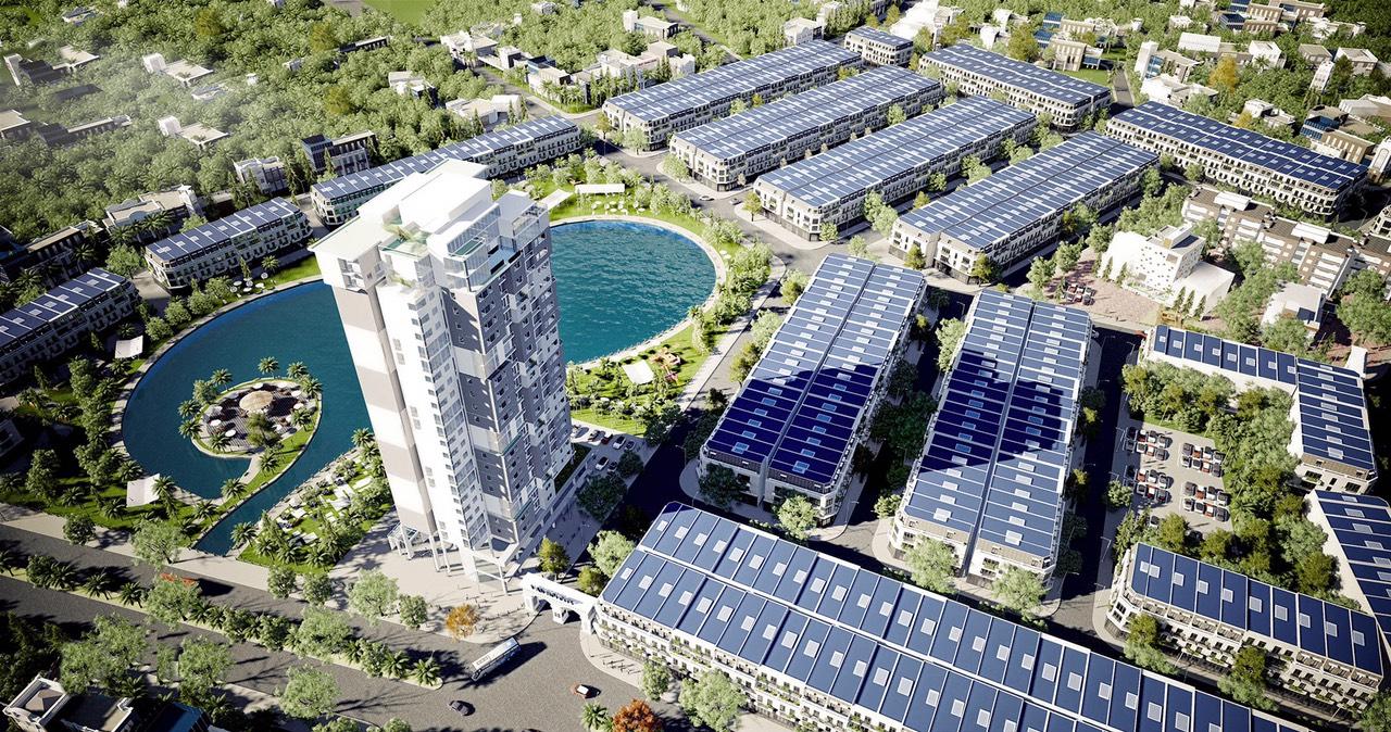Dự án KĐT Vân Hội City thiết kế 596 sản phẩm thấp tầng + chung cư 17 tầng