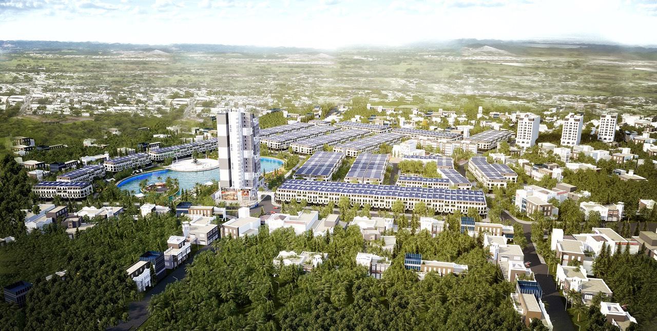 Flycam View dự án Liền kề Shophouse Vân Hội City