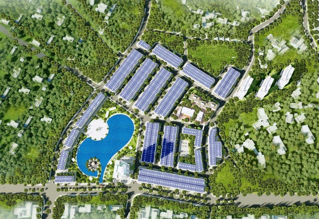 Bố trí không gian Dự án KĐT Vân Hội City Vĩnh Yên
