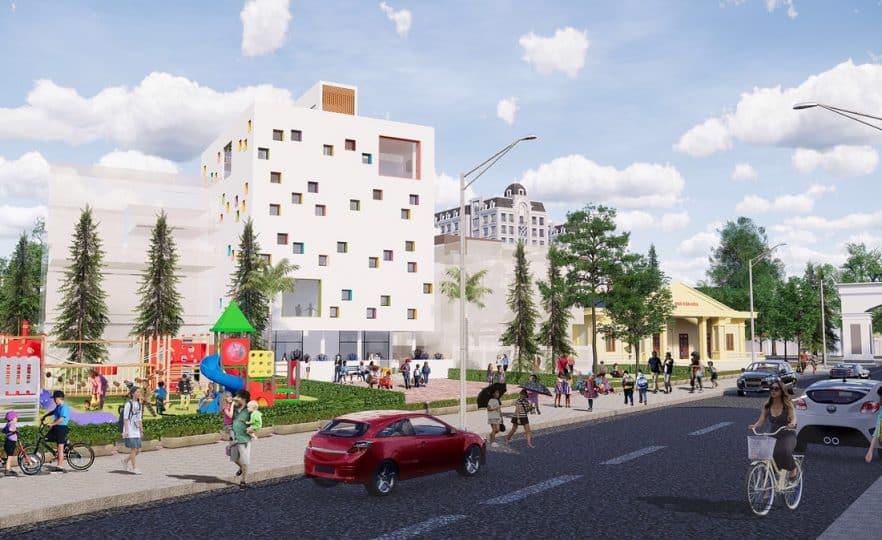 Dự án Vân Hội City thiết kế đầy đủ tiện ích hiện đại