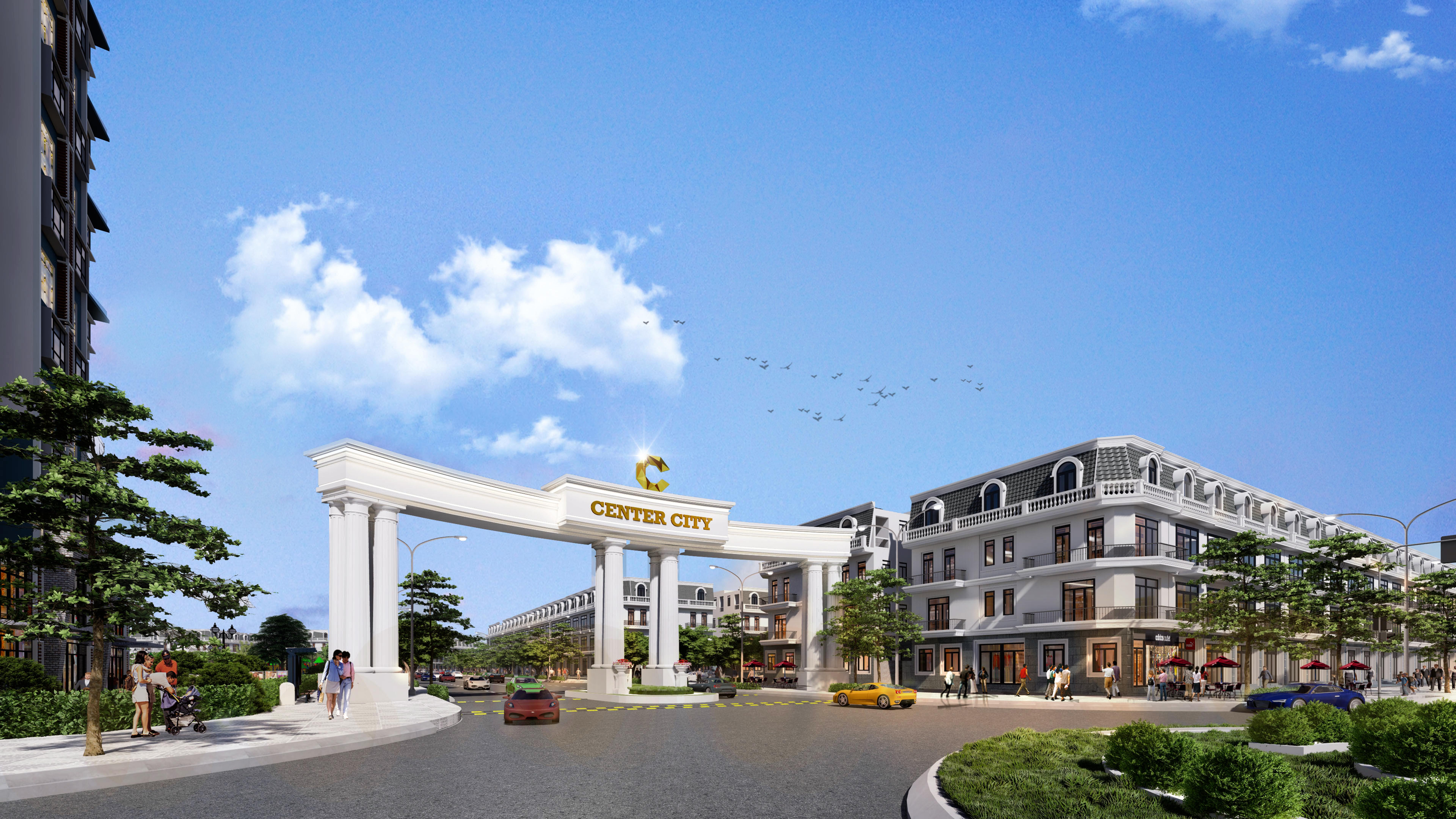 Welcome to Dự án Vinh Yen Center City 2020